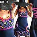 Un imprimé gai et fantaisie: l'élégance décalée d'une robe fraiche pour un tenue estivale qui joue la carte de la féminité !
