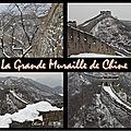 La grande muraille de chine : 3° rendez-vous