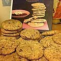 Cookies abricots / chocolat