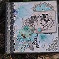 tuto mini album blue magniolia 1 er partie