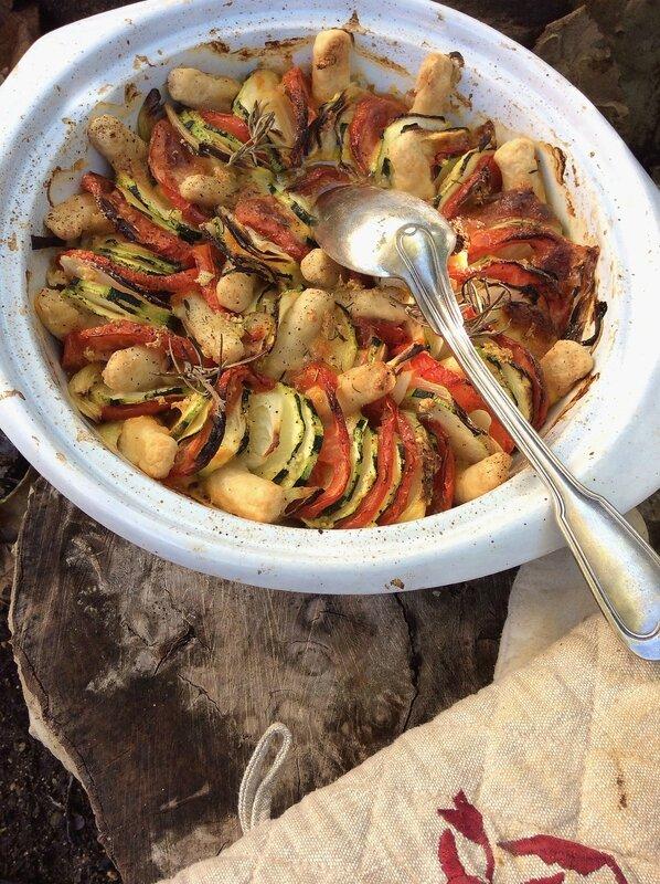 Tian de légumes aux quenelles de veau 2