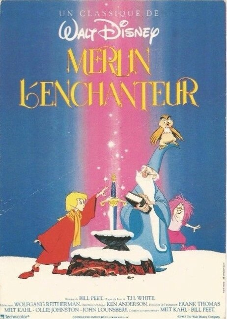 CPM Affiche Merlin l'enchanteur