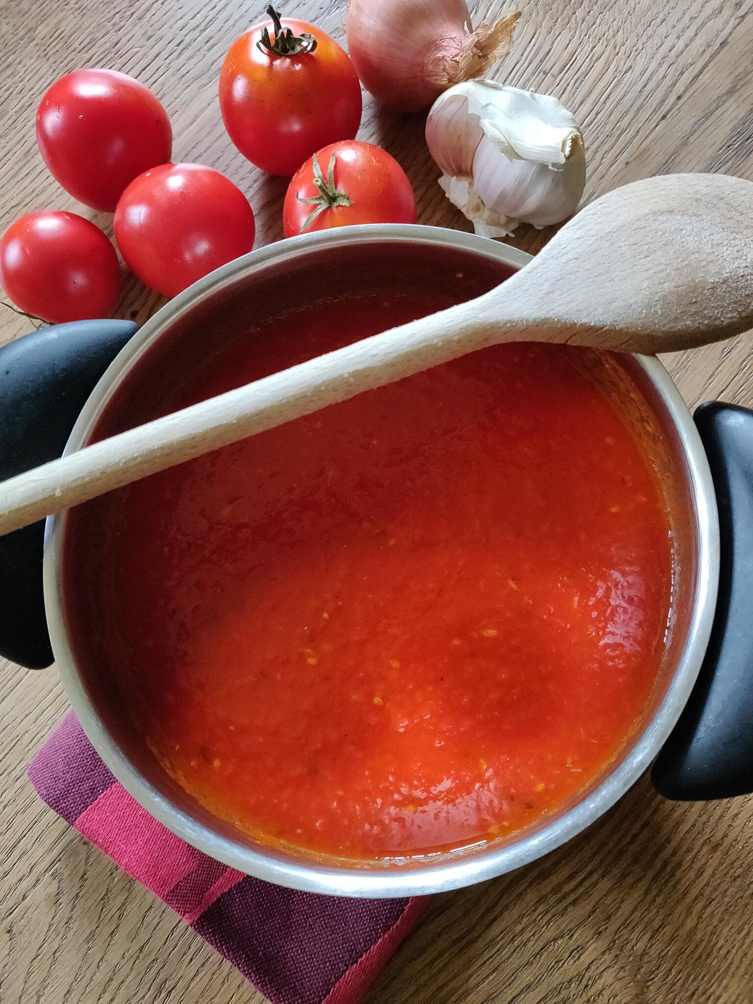 Les dernières tomates du jardin
