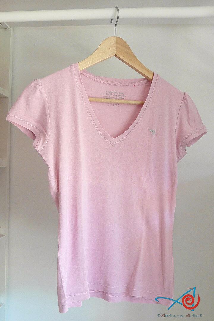 T shirt Esprit rose