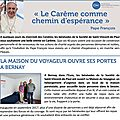 Bernay dans la newsletter nationale