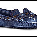 tods mocassins gommino denim 1