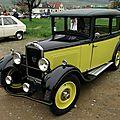 Peugeot 201 berline, 1930