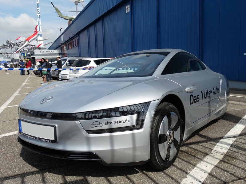 VOLKSWAGEN XL1 Das 1 Liter Auto Sinsheim (1)