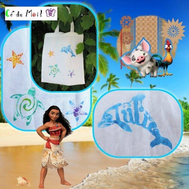 17-06-12 peinture textile sur sac Julie avec les filles - défi Sacs en vrac un mois,une créa et +