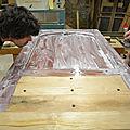 CAP ébéniste,Conservatoire Dynamique des Gestes Techniques,Peinture naturelle,cérusage,extraction des pigments,fabrication de la peinture a l huile,peinture à l'ancienne,vieillissement des bois part oxydation
