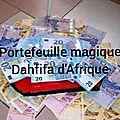 Porte monnaie magique en euro