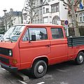 Volkswagen transporter t3 pick-up double cabine