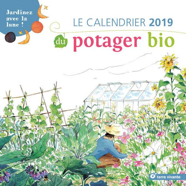 Les calendriers et agendas 2019 de Terre Vivante sont arrivés chez Les Jardins De Tara ! Réservez au 0612554800