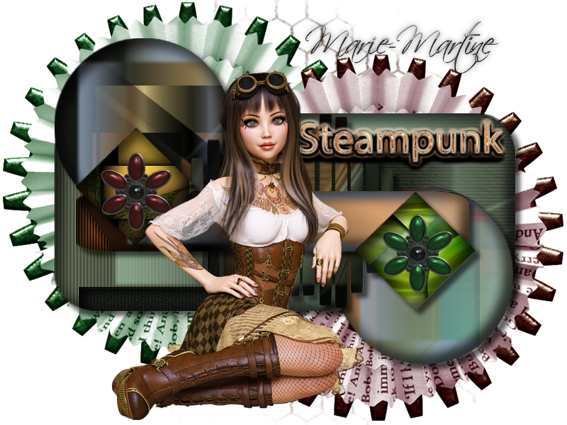 template steampunck