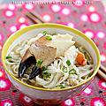 Yashigani soba: soupe de nouilles au crabe & au miso