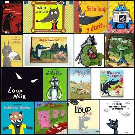 96_Personnages Animaux Monstres_Le grand méchant loup(montage)