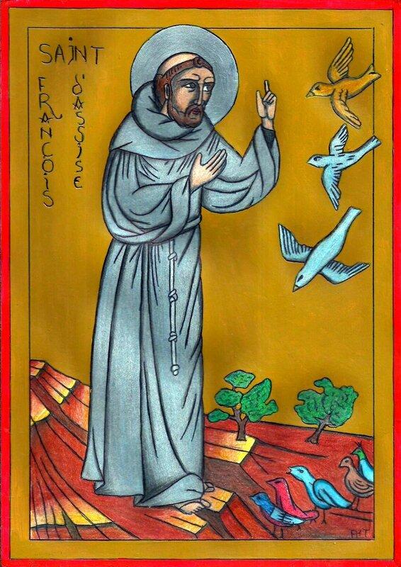 Saint François aux oiseaux 2