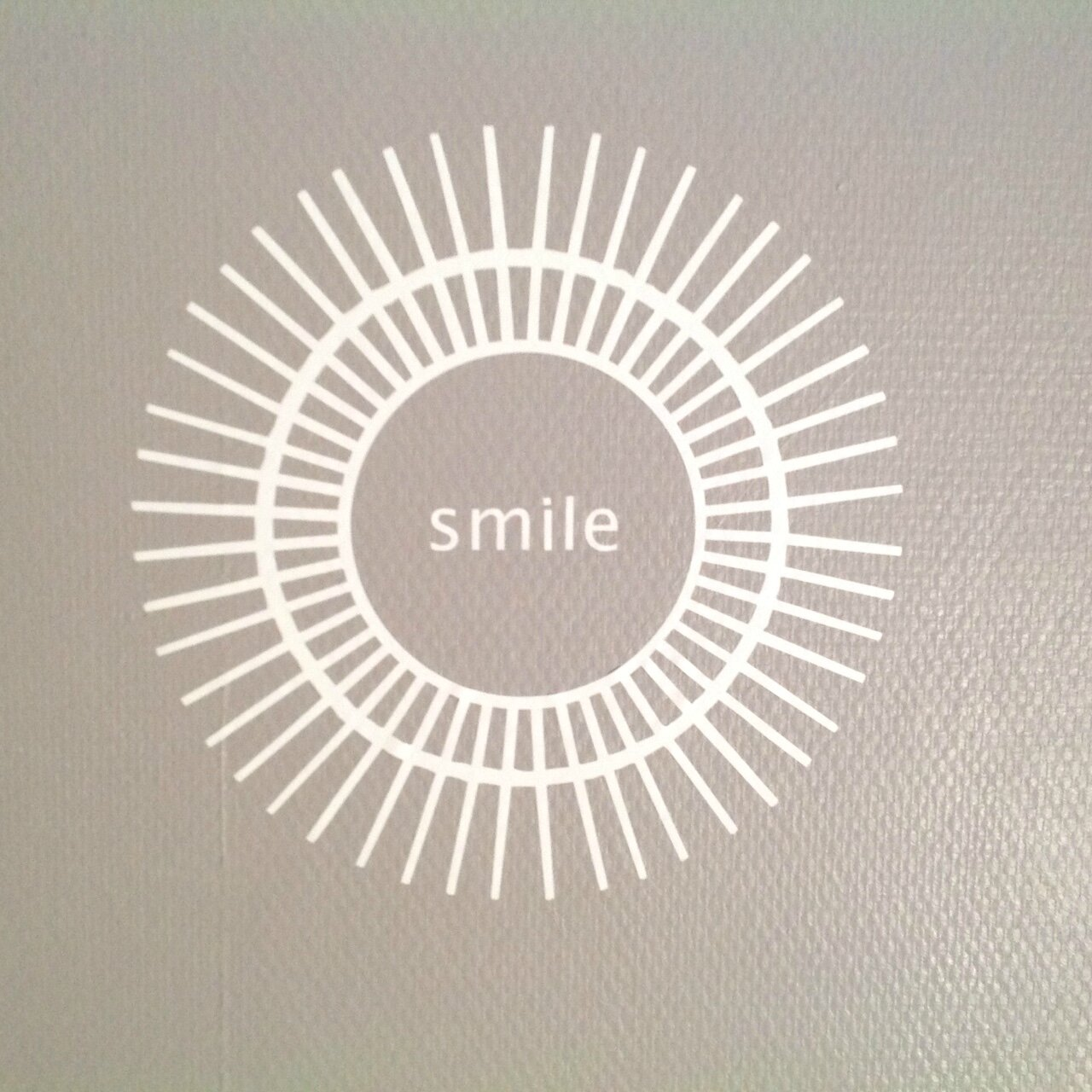 miroir SOLEIL smile !!