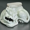 A Qingbai tiger-form support, China, Southern Song-Yuan Dynasty, 12th-13th century