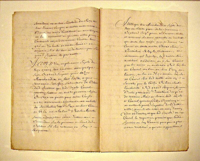 Traité des Capitulations, 1536