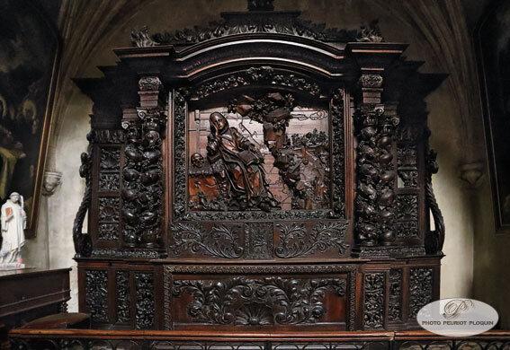 MARMANDE_Eglise_Notre_Dame_Retable_de_Saint_benoit_XVIIe_siecle