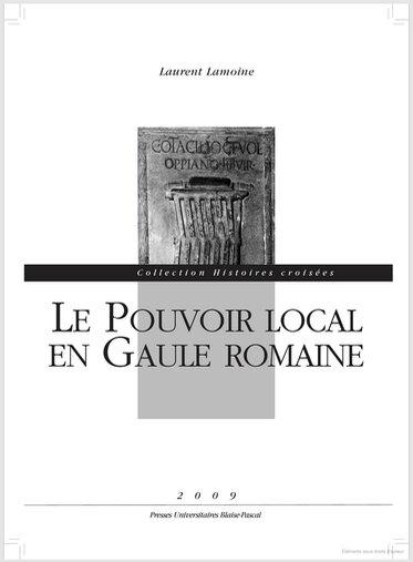 pouvoir local en Gaule romaine, couv (2)