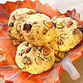 Cookies au parmesan, figues et noix de cajou
