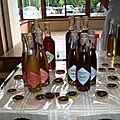 Sel aromatisé et Liqueur Corse de Christine Backes