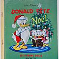 Livre ancien ... donald fête noël (1961) * albums roses