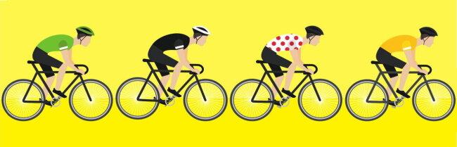 Tour de France - les maillots