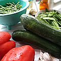 Wok de légumes de printemps