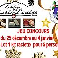 Concours jouez et gagnez 1 kit de raclette pour 5 personnes