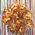 Recette express : les coupelles en feuilles filo pour les glaces ou la salade de fruits