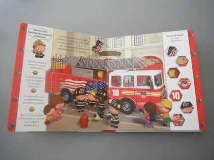 découvre les pompiers avec léon 3