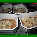 St jacques au surimi et bisque de homard