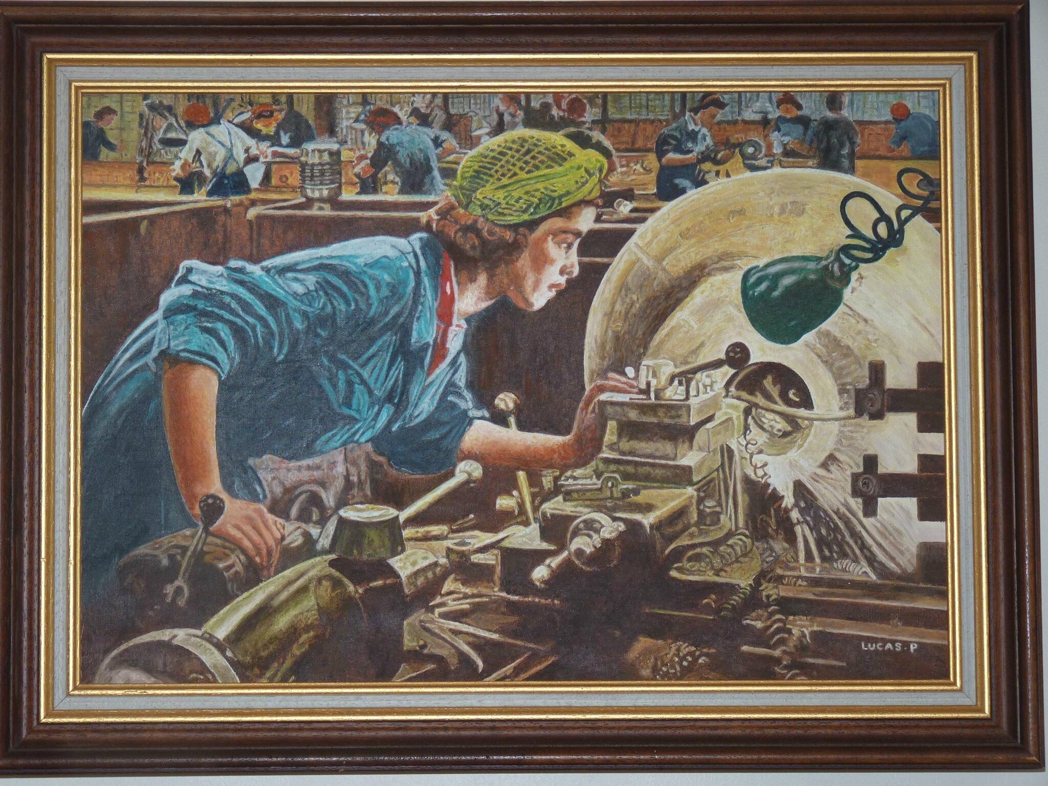 Travail de la femme dans l'industrie de P. Lucas