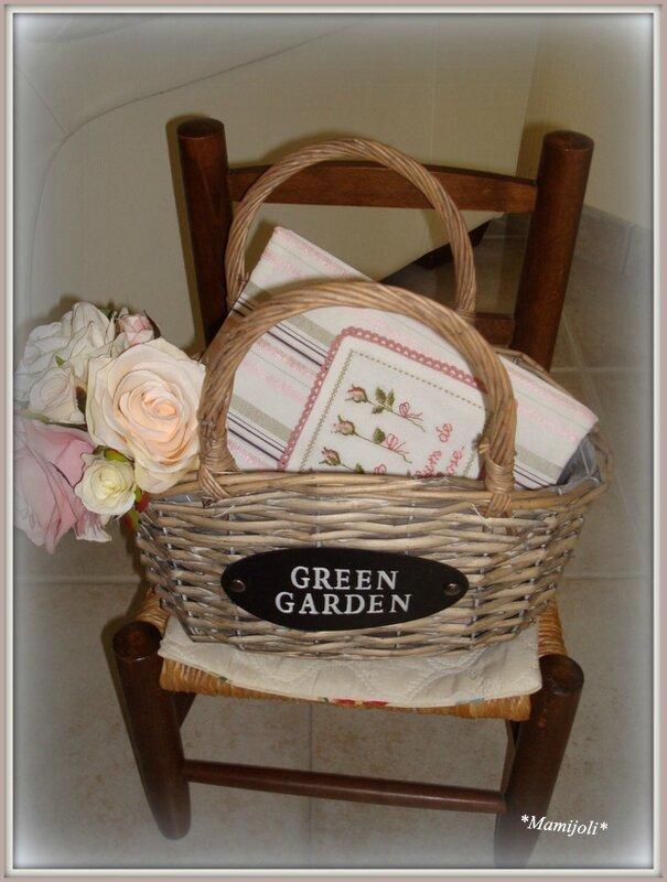 Cahier Jardinier parfum de rose