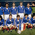 18 novembre 1981 FRANCE-PAYS-BAS ... MATCH QUALIFICATIF POUR ESPAÑA 82