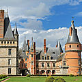 Chateau de maintenon - eure - france