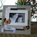 Chevalet photo et mini accordéon