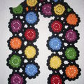 Echarpe Marguerite Multicolore