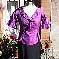 Boutique : haut flamenco en soie et jupe de flamenco