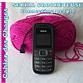 Serial crocheteuse 134 : grand mère nokia
