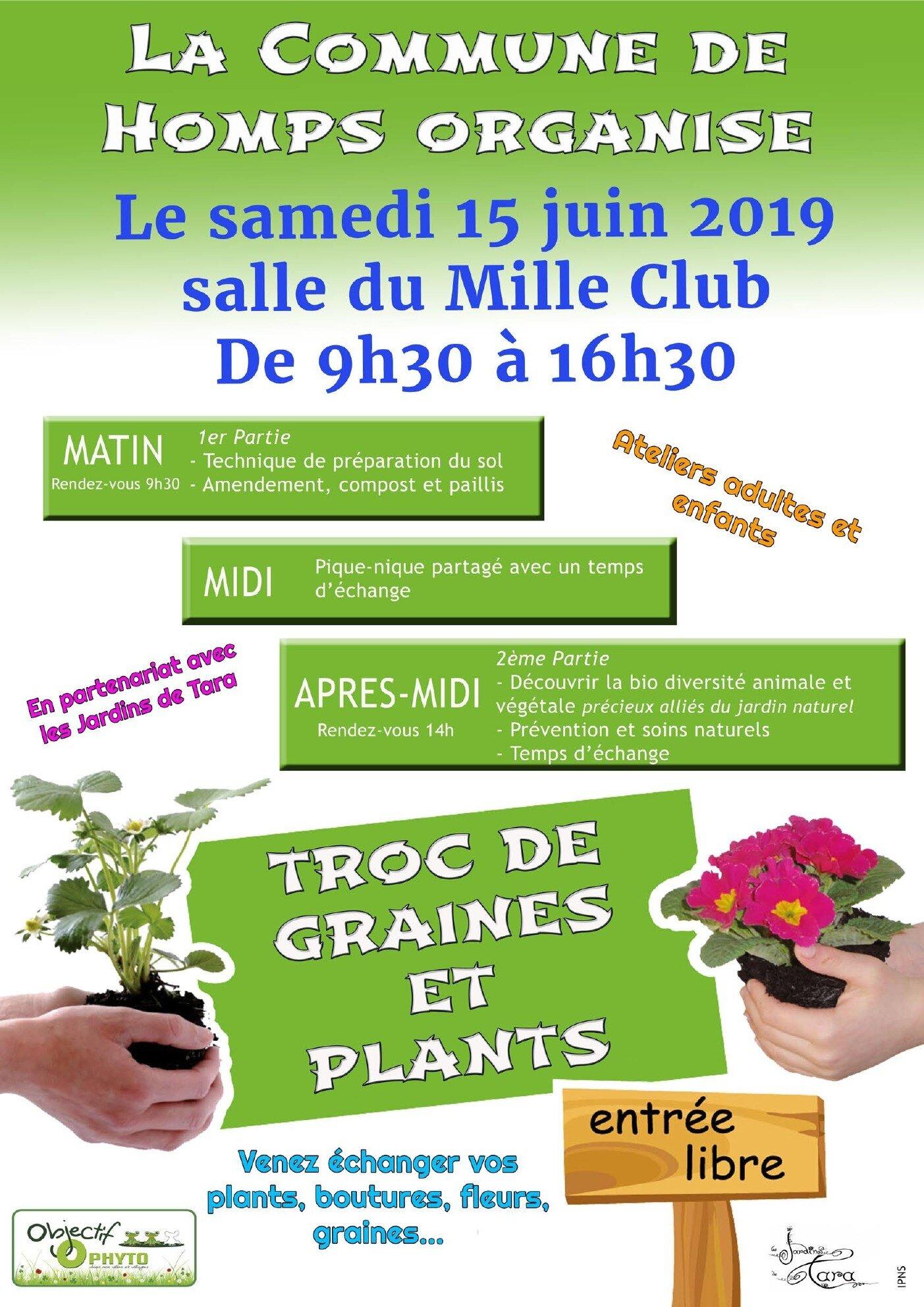 Retrouvez moi le 15 juin pour une journée de formation au jardinage naturel a Homps (Aude)