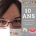 Les 10 ans du blog