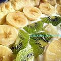 Tarte aux fruits créme pannacotta