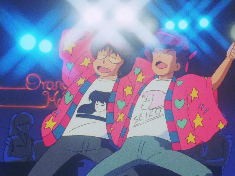 Canalblog Japon Anime Kimagure Orange Road Costumes Rigolos Night19