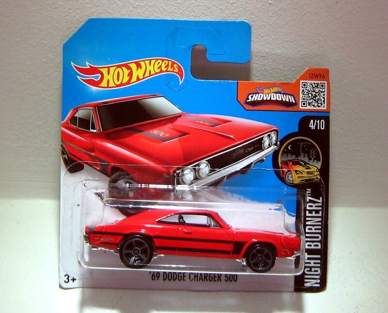 Dodge charger 500 de 1969 (Hotwheels)