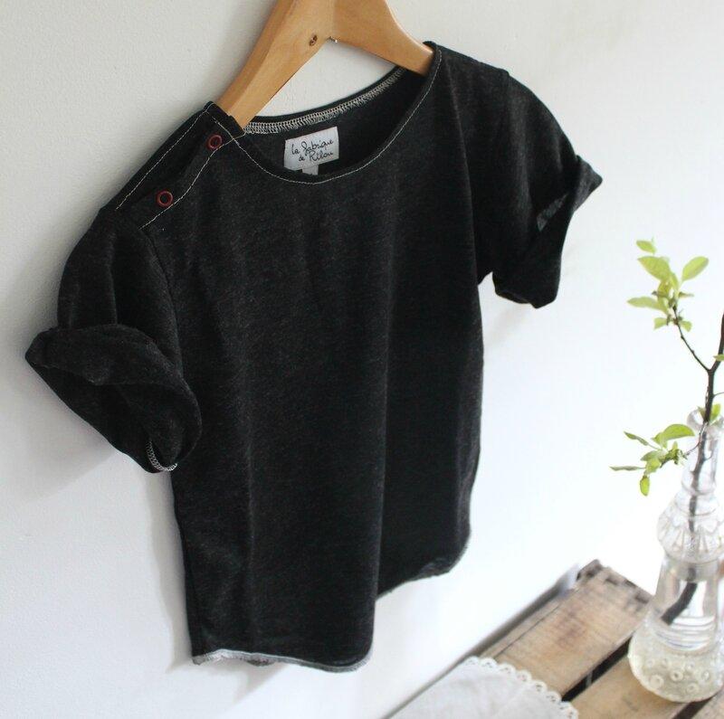 La fabrique de Rilou 2016 été T-shirt POIS DE SENTEUR (1)