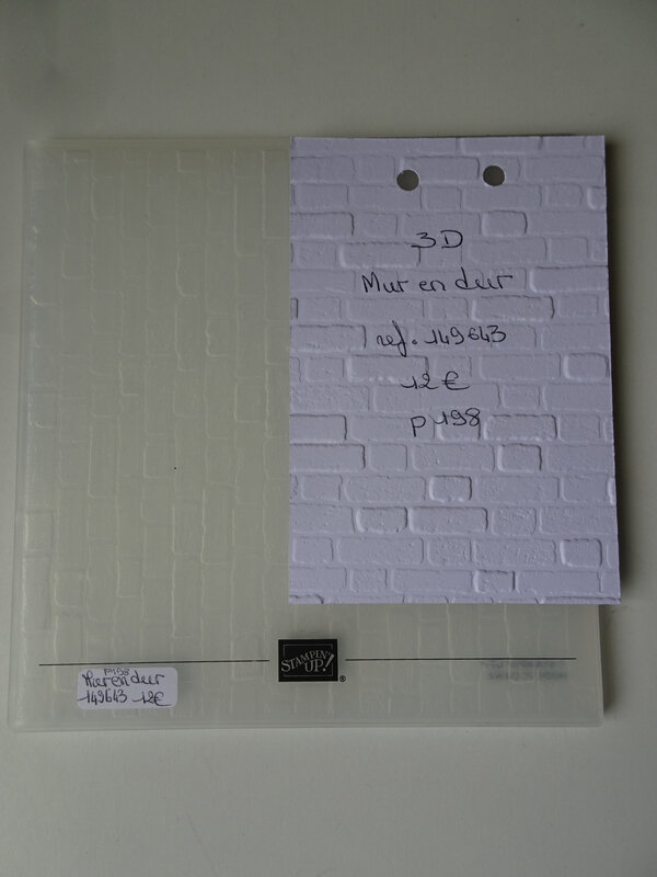 Plioir 3D Mur en dur